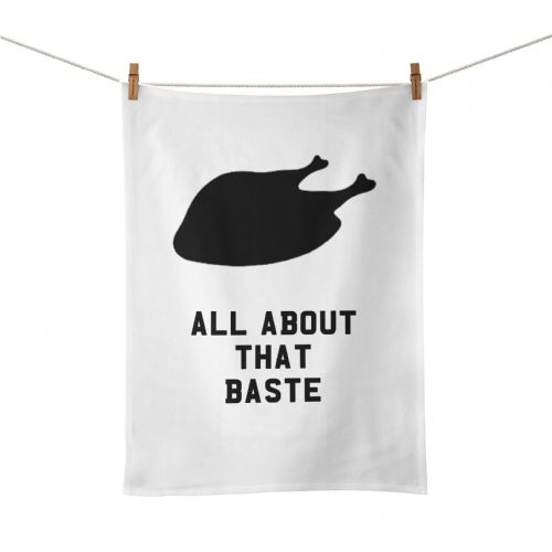Funny Kitchen Song Lyrics All About That Baste Tea Towel